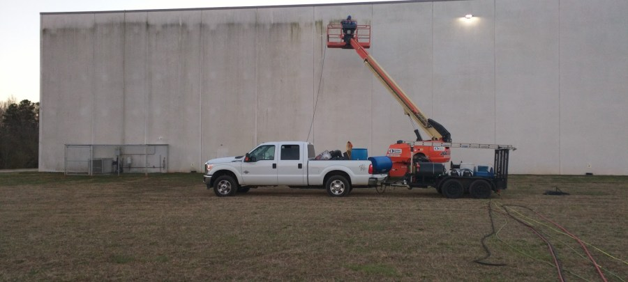 Large-Scale Exterior Commercial Pressure Washing by Clean Metro, Inc