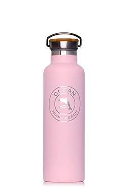 Water bottle small pink