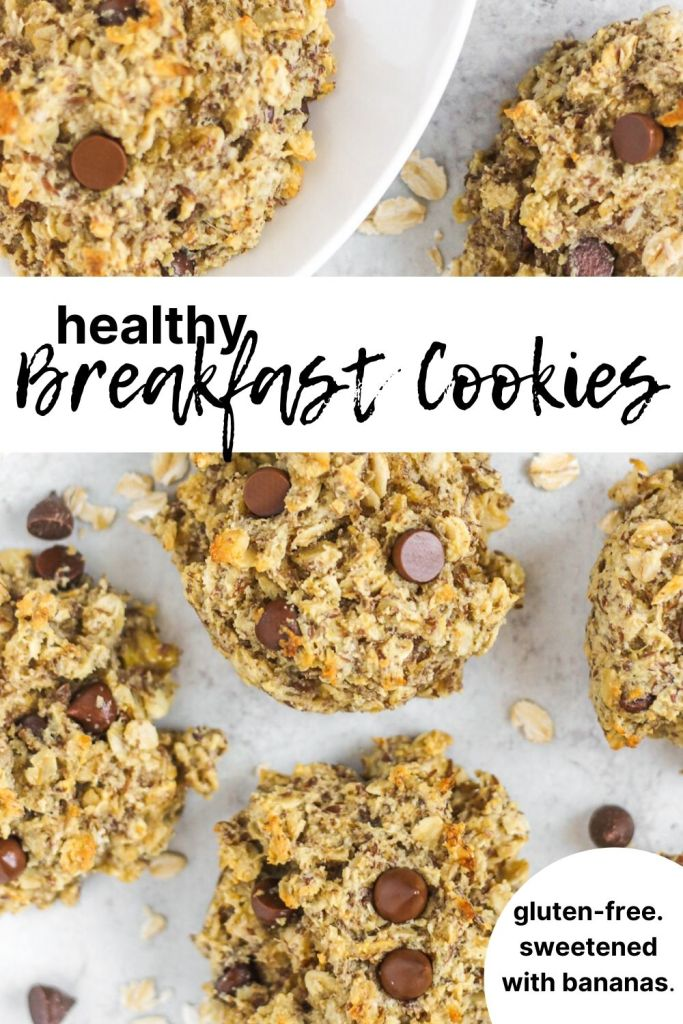 breakfast cookies pinterest pin