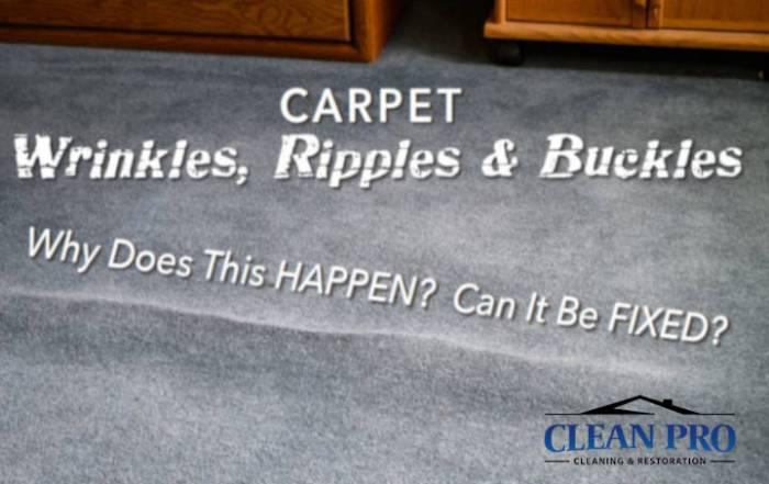 carpet wrinkles - Clean Pro Image of Wrinkle Carpet