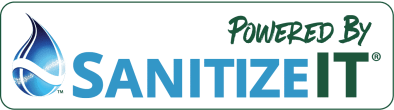 Sanitize it Logo for cleaning services in Chicago Il.