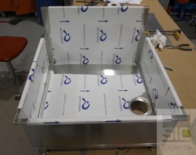 mop sink stainless steel sic30633 sic