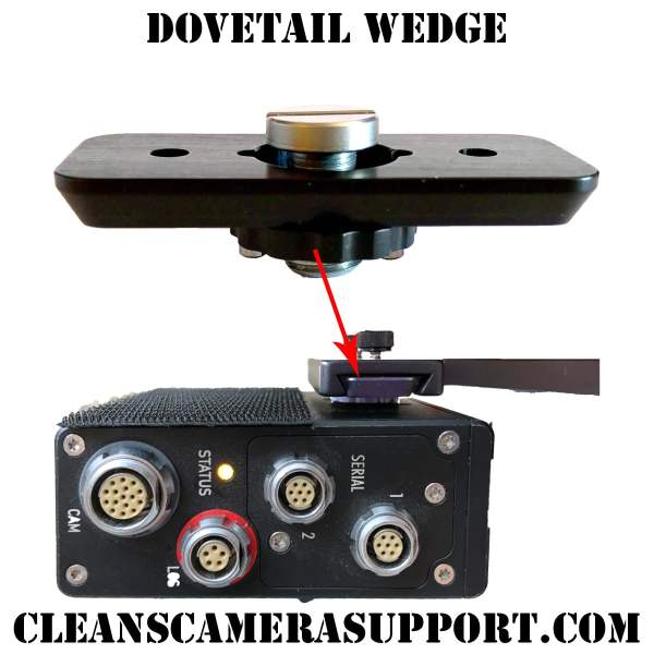 dovetail wedge