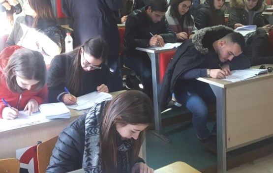 CleanScore në Fakultetin e Ekonomisë së Universitetit të Tiranës