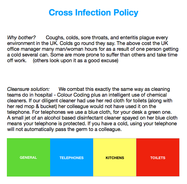 Cross infection policy jpeg for website