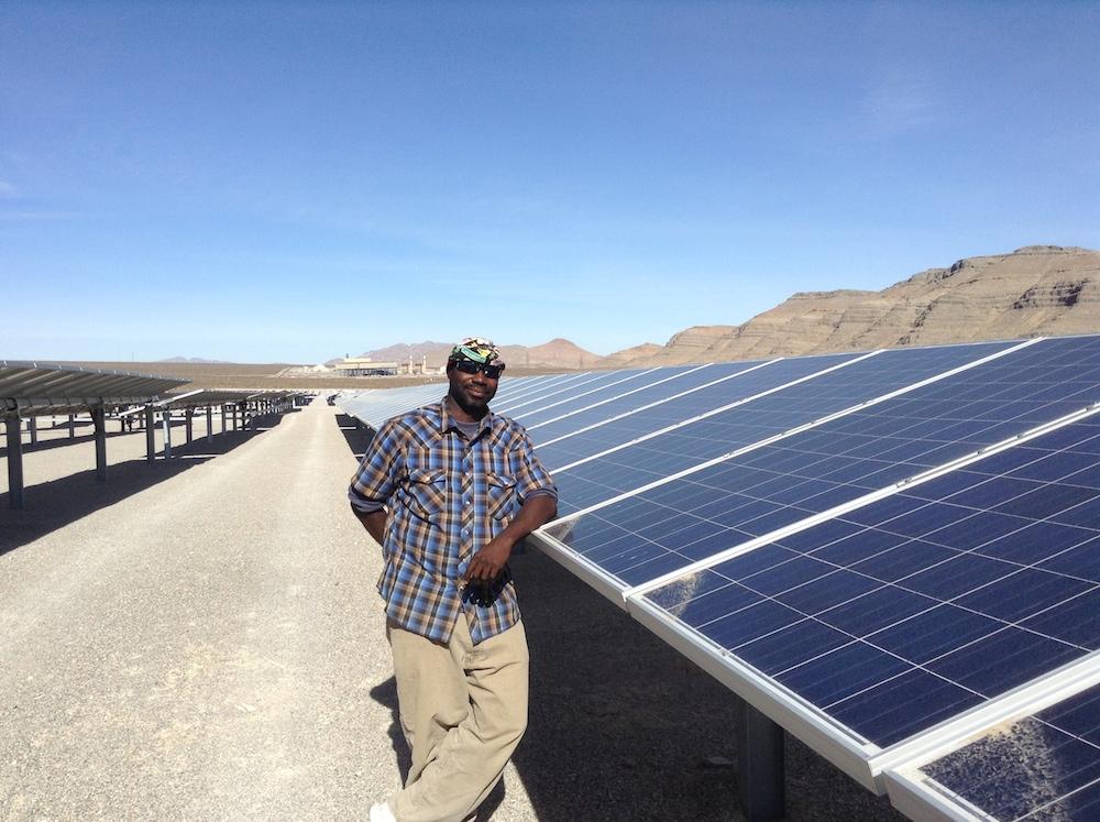 ABB solar power plant in Nevada.