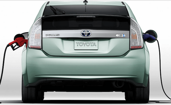 Toyota Prius PHEV Image Credit: Toyota