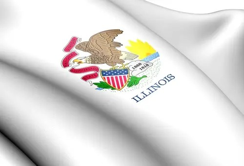 JBS News Renewable Energy. Image Credit: Illinois flag via Shutterstock