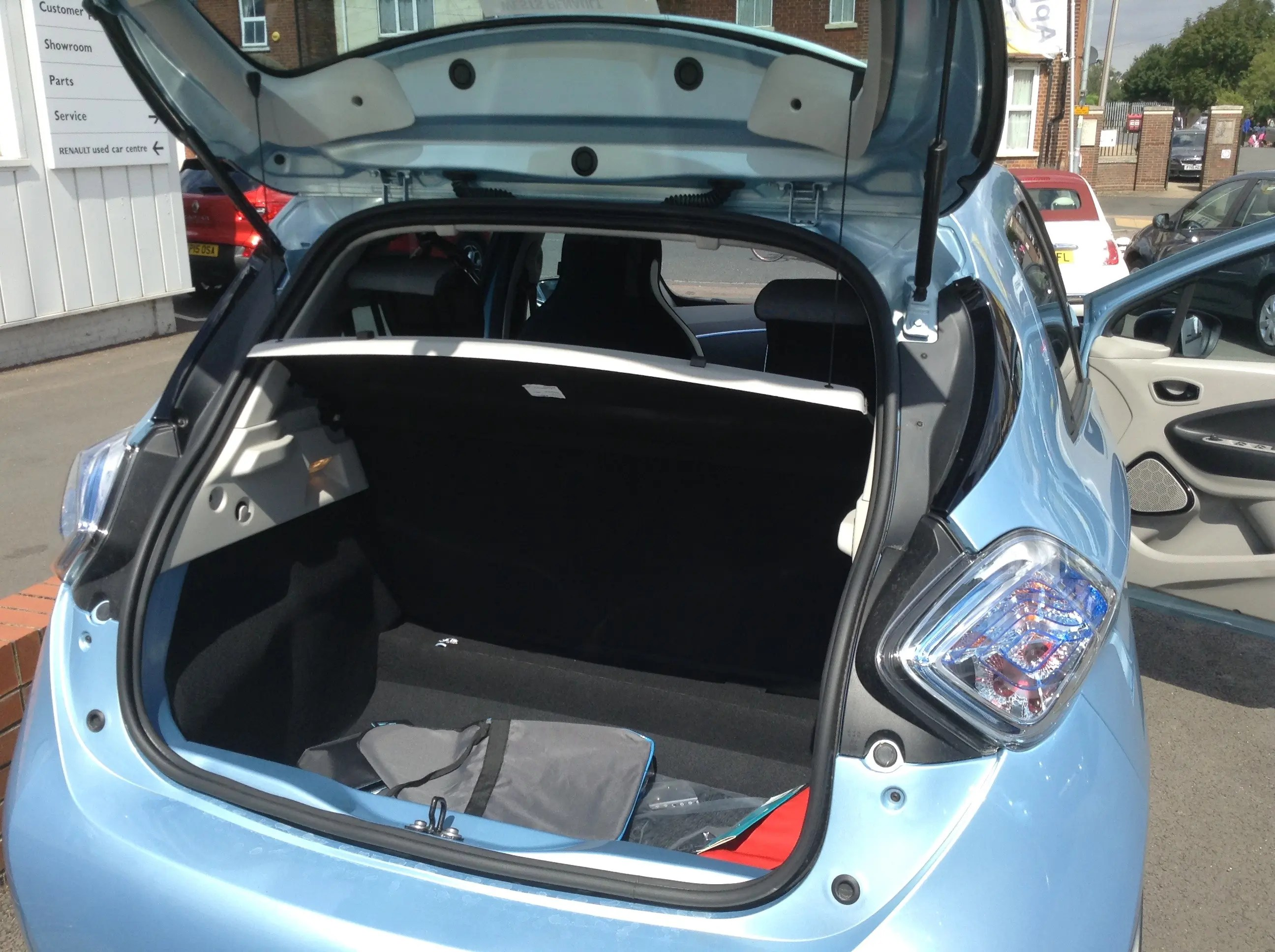 Renault Zoe In Uk Test Drive Review