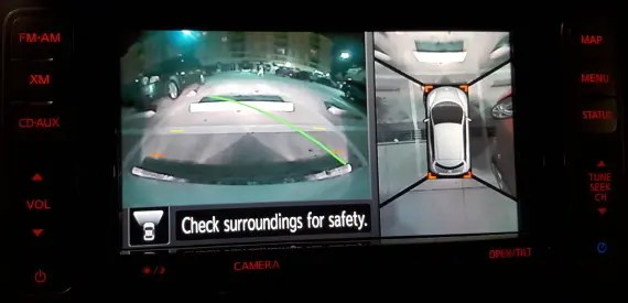 Nissan LEAF Backup Camera 1