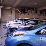 Nissan LEAF Blue White Ford Light Blue