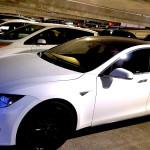 Silky White Tesla