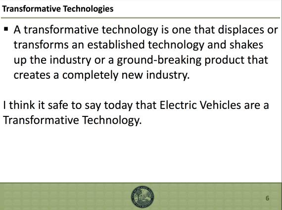 Transformative EVs