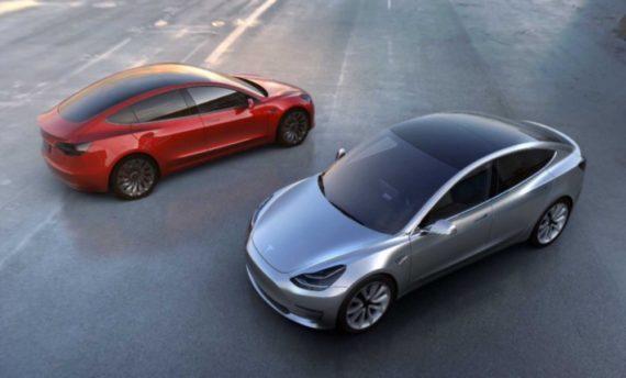 Tesla Model 3 x 2