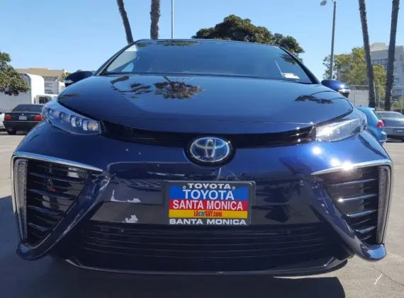Toyota Mirai CleanTechnica
