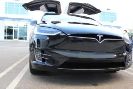 Tesla Model X Black Eye