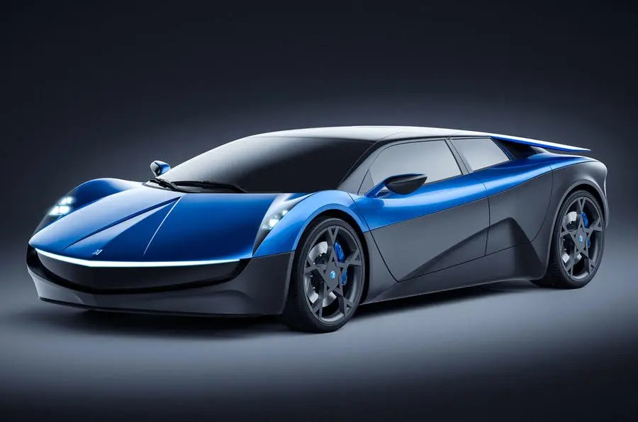 Hp Elextra Electric Supercar Will Be Launched In
