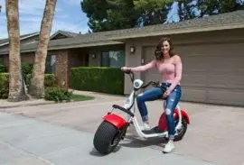Electric Big Phat Scooter