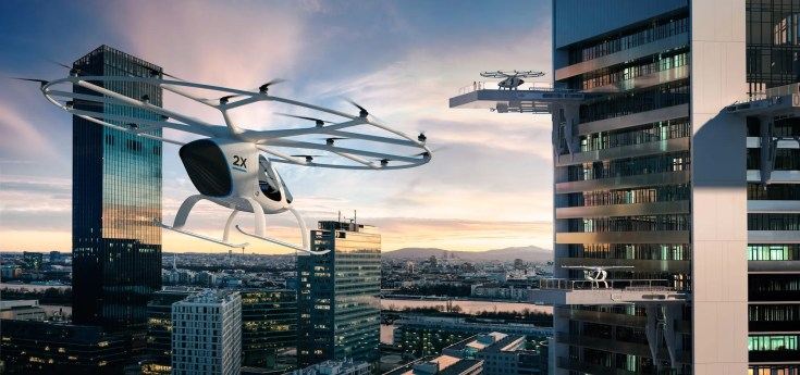 Volocopter UAM eVTOL News