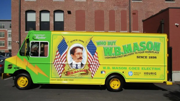 Workhorse electric delivery van
