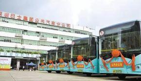 electric bus Shinzen China