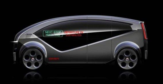 Fisker Autonomous Driving Shuttle