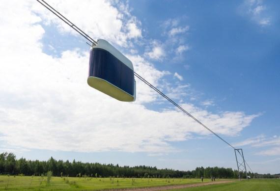SkyWay urban transport