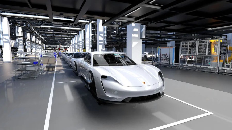 Porsche electric Taycan