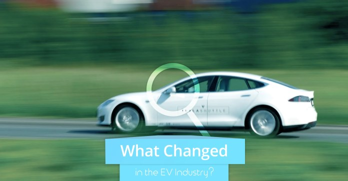 what changed in the ev industry in 2018? | cleantechnica
