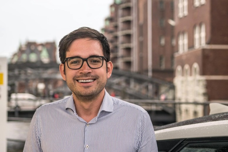 Bruno Ginnuth, co-founder and CEO of CleverShuttle