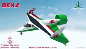 Faradair Electric Hybrid BEHA M1H Aircraft
