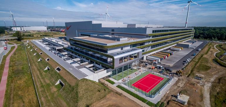 Nike distribution center Belgium