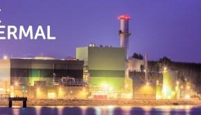 Coal generating station in UK