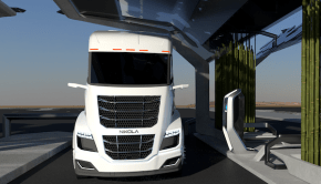 green hydrogen renewable FCEV trucks