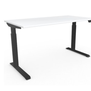 AMQ Height Adjustable Tables, 30X60 Black base