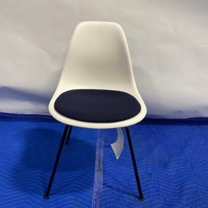 Herman Miller Eames White Molded Plastic Chair
