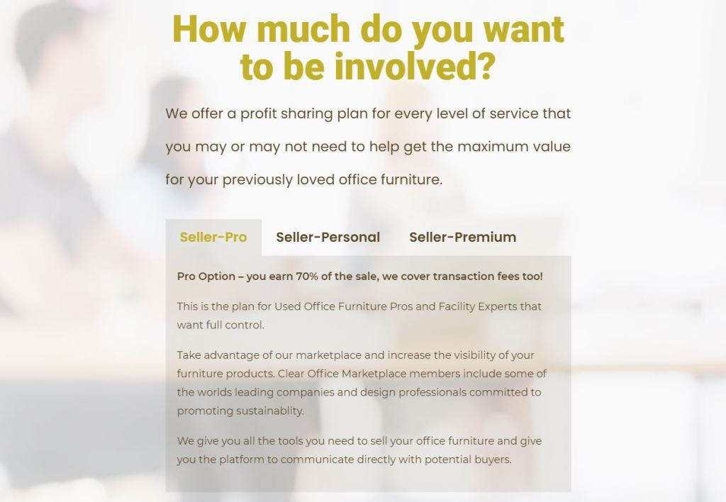clear office seller plans work the way you want to work