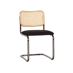 Knoll Cesca Armless Chair, Ratan Black