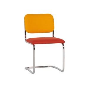 Knoll Cesca Armless Chair, Orange