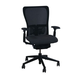 Haworth Zody Mesh Back Used Task Chair, Smoke Gray