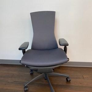 Herman Miller Embody Chair, Charcoal Rhythm