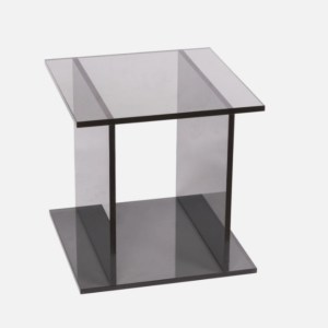 Smoke Acrylic Side Table