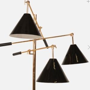 Organic Modernism Trilight Cone Floor Lamp
