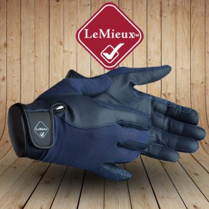 Pro Touch Performance Blue Riding Gloves