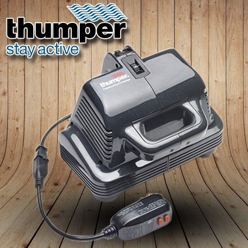 Thumper equine massager