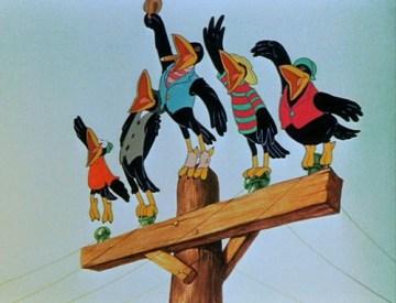 racist crows