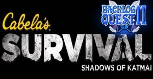 Day 14 – Cabela's Survival: Shadows of Katmai – Tomb Raider meets Buck Hunter