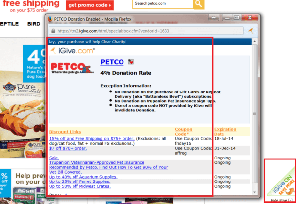 I no longer need to collect PETCO.com coupons!