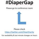 Closing the Diaper Gap, 63 cent per Diaper to 7 cent per Diaper