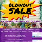 BLOWOUT SALE – Support OC #DiaperBank & #DiaperGap programs by Shopping!